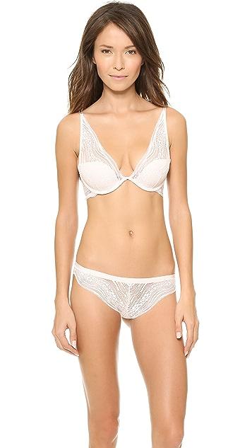 Calvin Klein Underwear Infinite Lace Plunge Bra