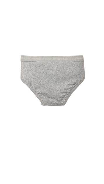 Calvin Klein Underwear 4 Pack Cotton Classic Low Rise Hip Briefs