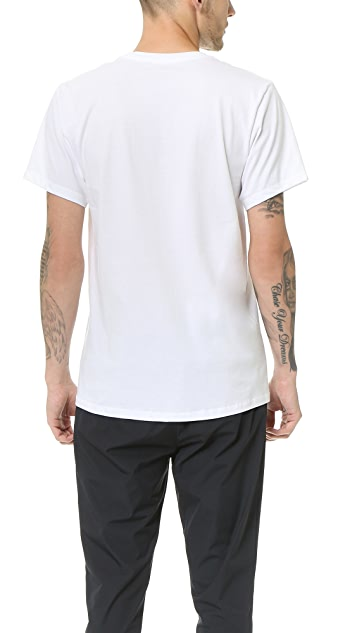 Calvin Klein Underwear 3 Pack Regular Fit Classic Short Sleeve Tee