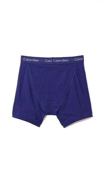 Calvin Klein Underwear 3 Pack Cotton Stretch Boxer Briefs