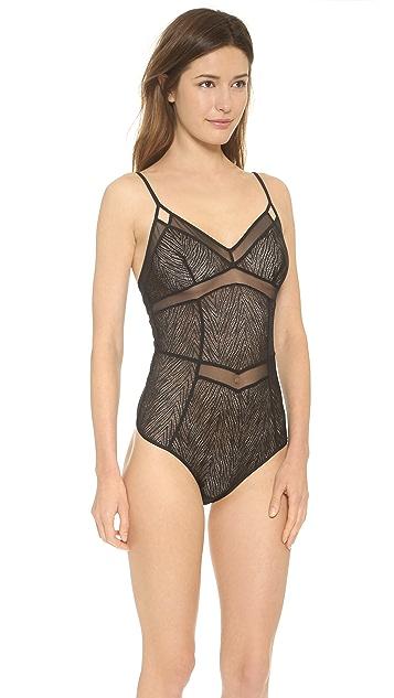 Calvin Klein Underwear Calvin Klein Black Primal Bodysuit