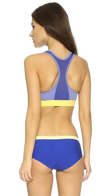 Calvin Klein Underwear Flex Motion Impact Racer Back Bra