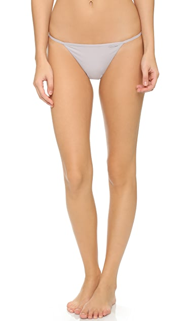 Calvin Klein Underwear Sleek G-String 3 Pack