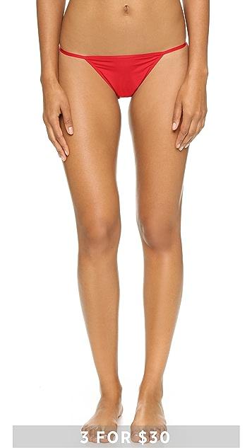 a86d6ac898 Calvin Klein Underwear Sleek String Bikini Briefs