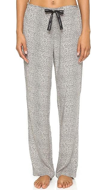 Calvin Klein Underwear Pebble Print Pajama Pants