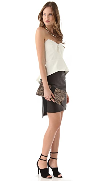Clare V. Lace Fold Over Clutch