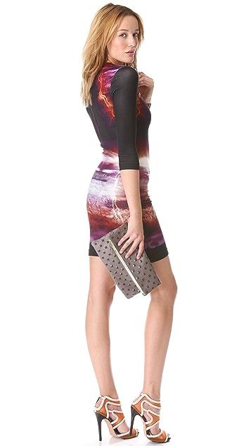 Clare V. Studded Fold Over Clutch