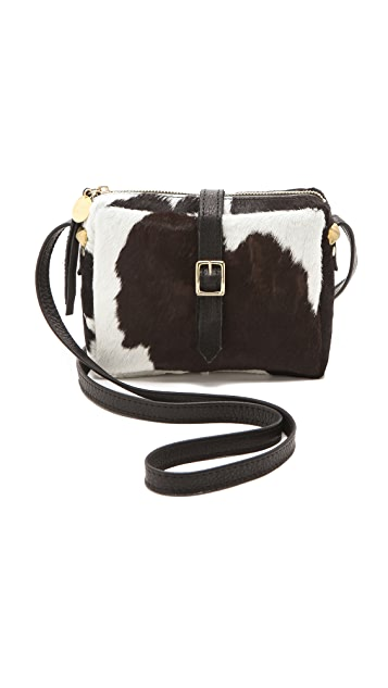 Clare V. Mini Haircalf Bag