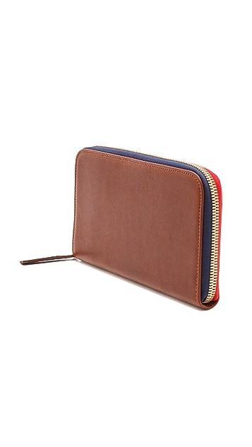 Clare V. Zip Wallet