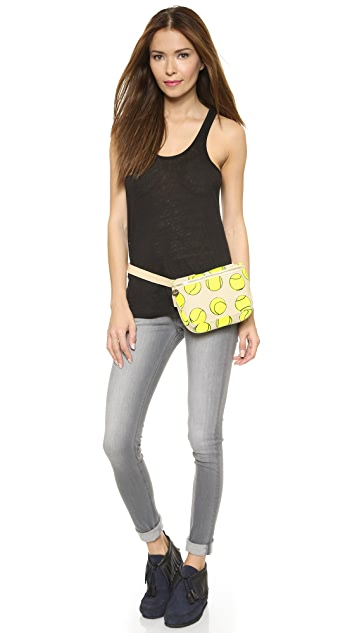 Clare V. Canvas Fanny Pack