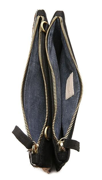 Clare V. Double Sac Bretelle Cross Body Bag