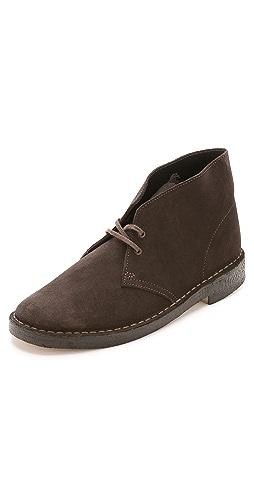 Clarks - Suede Desert Boots