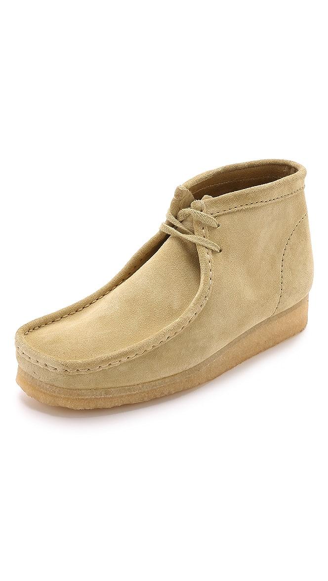 Clarks Suede Wallabee Boots | EASTDANE
