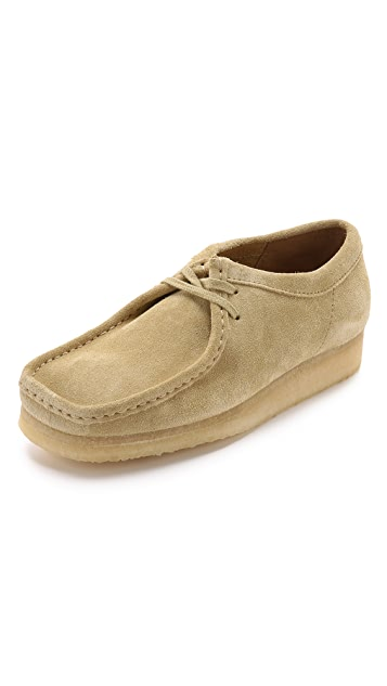 Clarks Suede Wallabee Shoes