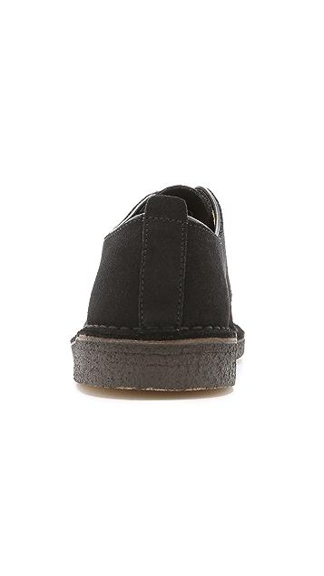 Clarks London Suede Shoes