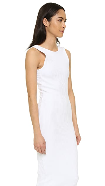 CLAYTON Kendrick Wide Rib Dress