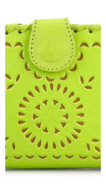 Cleobella Mexicana Painted Mini Wallet