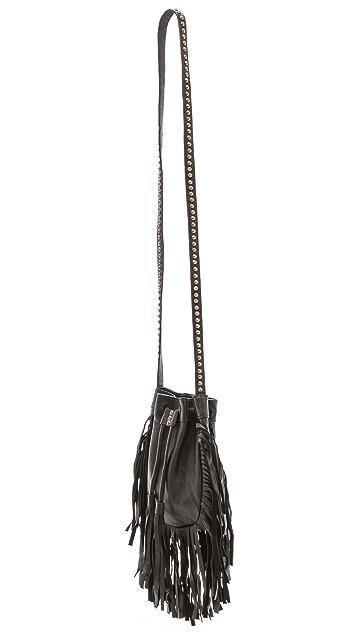 Cleobella Cheyenne Fringe Bucket Bag