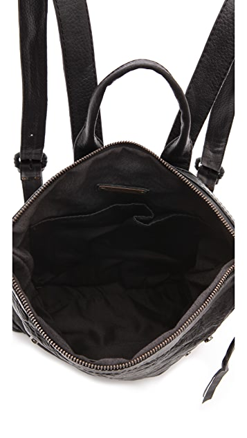 Cleobella Leena Backpack with Snake Pocket