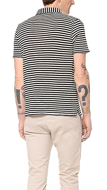 Closed Stripe Polo