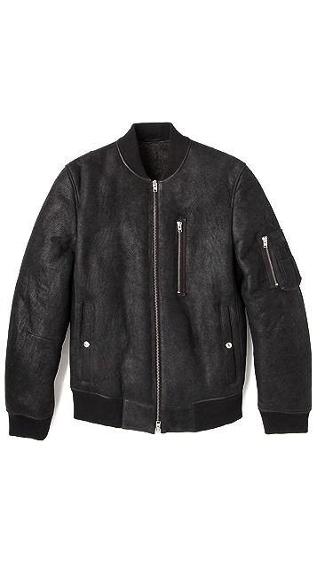 Closed MA1 Shearling Jacket
