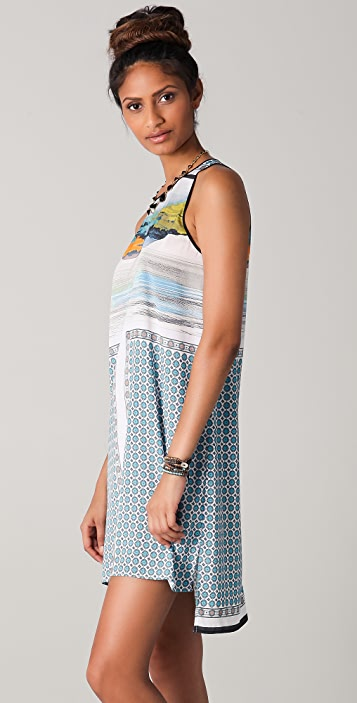 Clover Canyon Landscape Foulard Dress