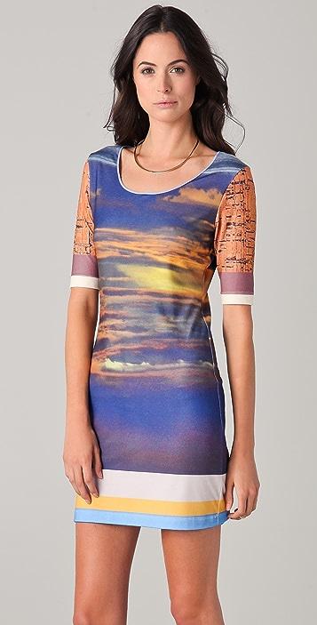 Clover Canyon Sunset Cork Dress