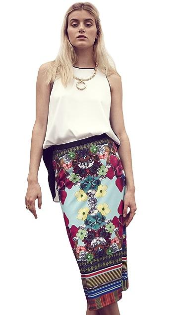 Clover Canyon Tropical Diamond Skirt