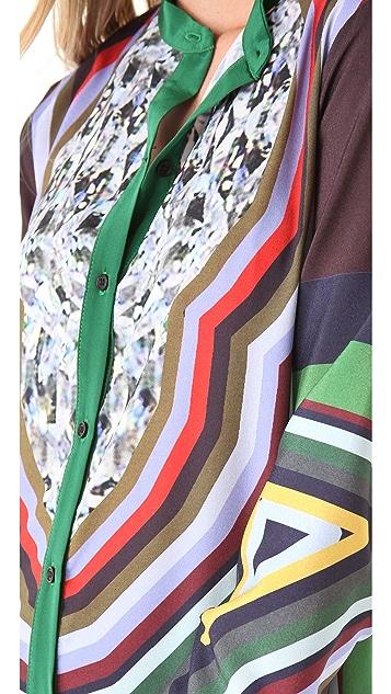 Clover Canyon Circle Diamond Shirtdress