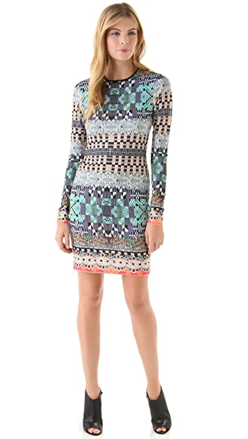Clover Canyon Jeweled Tapestry Dress
