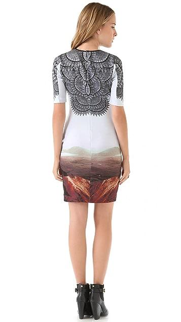 Clover Canyon Chantilly Landscape Dress