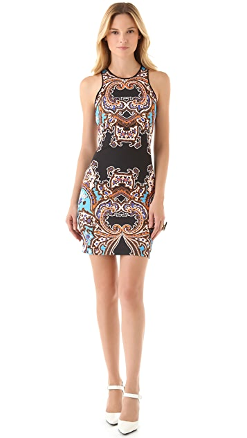 Clover Canyon Holiday Neoprene Dress