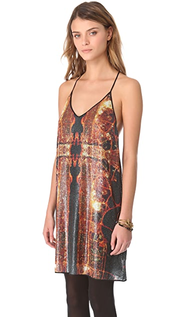 Clover Canyon Dubai in the Sky Dress