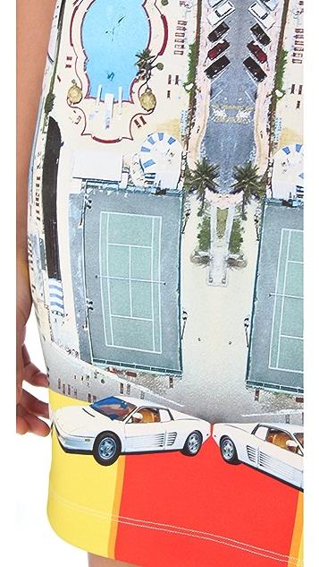 Clover Canyon Miami Streets Mini Dress