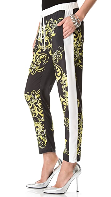 Clover Canyon Neon Filigree Crop Pants