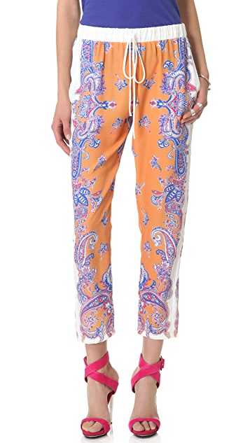Clover Canyon Paisley Drawstring Pants