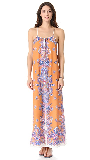 Clover Canyon Bordered Paisley Dress