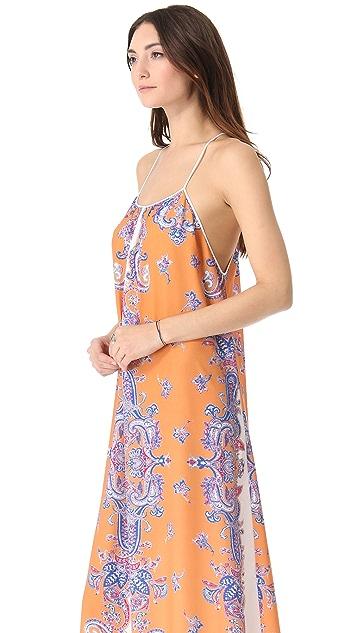 Clover Canyon Bordered Paisley Dress