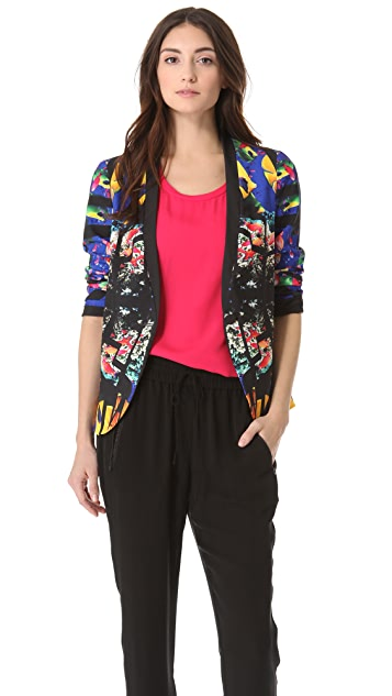 Clover Canyon Aquarium Structured Blazer