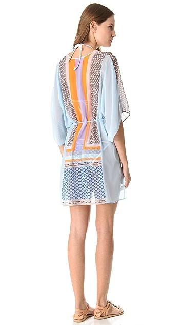 Clover Canyon Chainmail Scarf Kimono