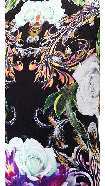 Clover Canyon Baroque Rose Scarf Dress