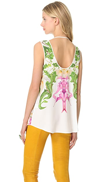 Clover Canyon Flower Filigree Top