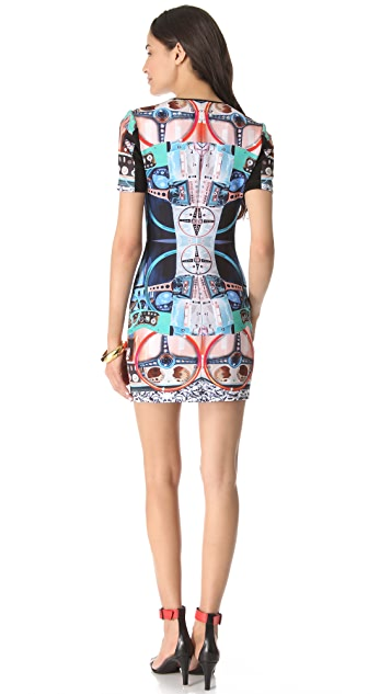 Clover Canyon Dashboard Neoprene Dress