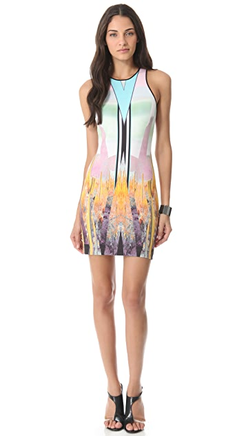Clover Canyon Prism Desert Neoprene Dress