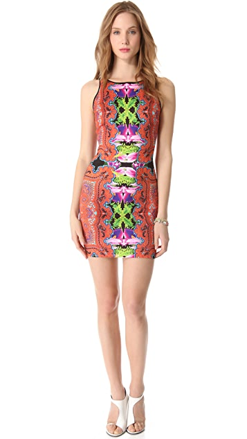 Clover Canyon Orchid Trip Pencil Dress