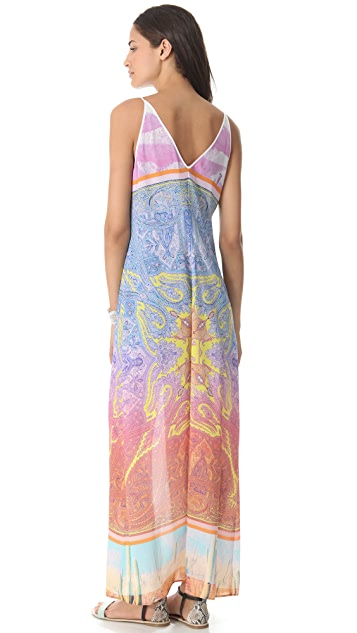 Clover Canyon Paisley Desert Maxi Dress