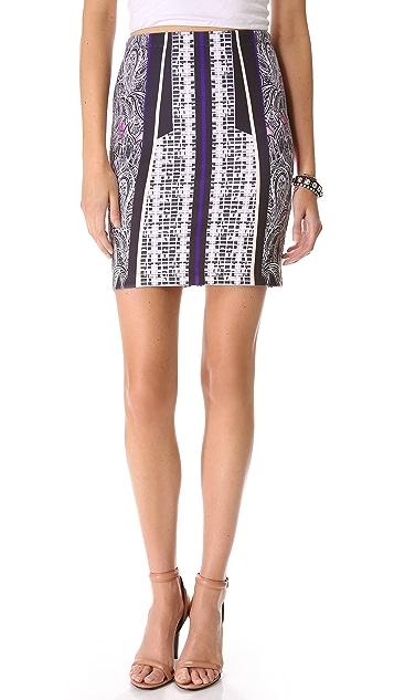 Clover Canyon Jaipur Jungle Neoprene Skirt