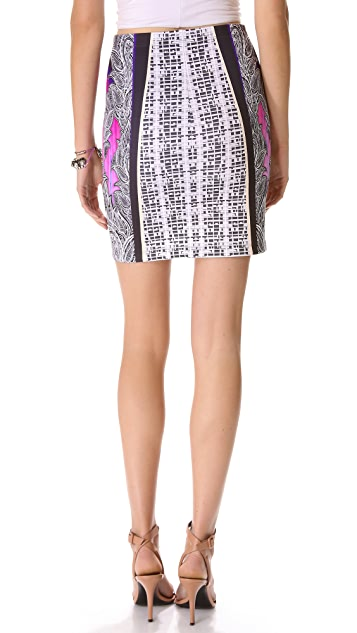 Clover Canyon Jaipur Jungle Neoprene Skirt