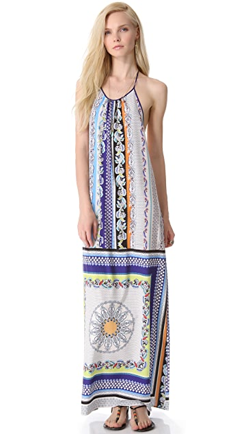 Clover Canyon Gandhi Scarf Halter Dress