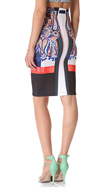 Clover Canyon Geometric Owl Skirt